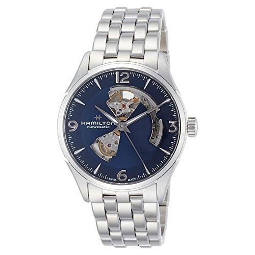 Hamilton Herren Analog Automatik Uhr mit Edelstahl Armband H32705141
