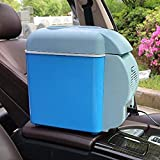 VAKHAR ABS Multi-Function Electric Mini Fridge for Car Travel Freezer 12 V Warmer & Cooling