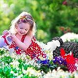Relaxdays Gartenfigur Schaf, Tierfigur, frostsicher, wetterfest, handbemalte Gartendeko, innen & außen, Keramik, schwarz - 2