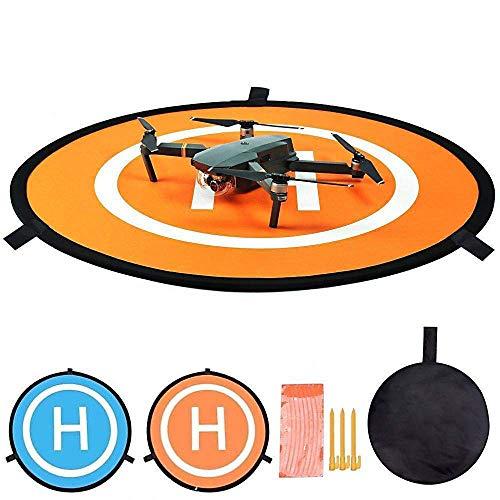 Drone Landing Pad Impermeabile 55cm Atterraggio Pieghevole Helipad Dronepad RC Drone Quadcopter...