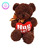 rethyrel Talking Bear Toy Mimicry Pet Talking Bear Electronic Peluche Bear Toy with Recording Funny Interactive Toys Doll Gift for Valentine's Day