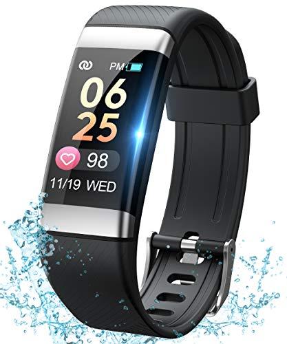 SANAG Smartwatch,IP67 Pedometro Activity Tracker,Orologio Fitness Uomo Donna Braccialetto Pressione...