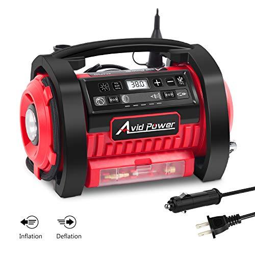 Avid Power 120v Tire Inflator Air Compressor reviews