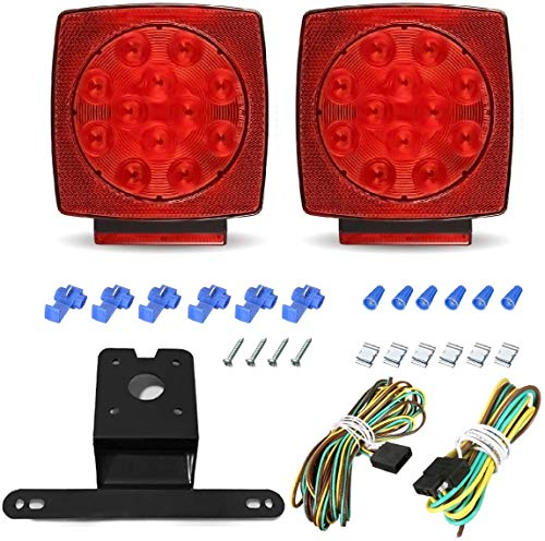 AMBOTHER LED Submersible Trailer Light Kits