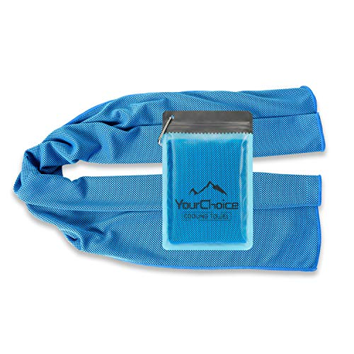 Your Choice Cooling Towel Snap Cooling Neck Wrap Cold Towel...