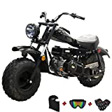 X-PRO Supersized 196CC Youth Mini bike Gas Powered Mini Trail Bike Scooter Carb approved mini...