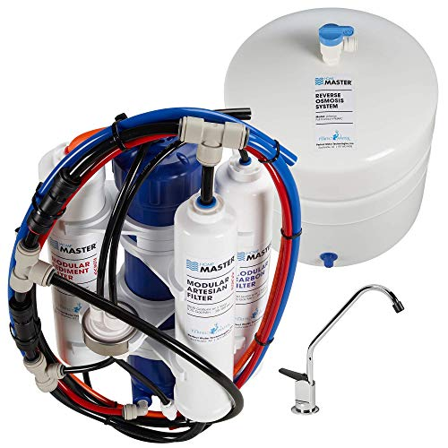 Home Master TMAFC Artesian Full Contact Undersink Reverse Osmosis Water Filter System,White