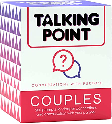 Talking Point Couples Card Games - 200 Thought Provoking...