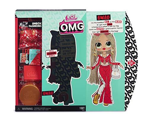 Image 4 - MGA- Poupée-Mannequin L.O.L O.M.G. Swag avec 20 Surprises Toy, 560548, Multicolore