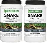 Liquid Fence HG-85010 2 lb Snake Repellent Granules - Quantity 2