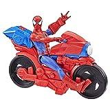 La moto giocattolo di Spider-Man
