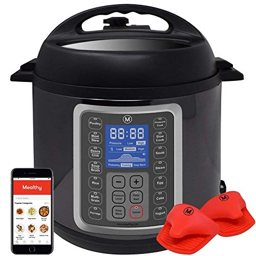 Mealthy MultiPot 9-in-1 Programmable Pressure...