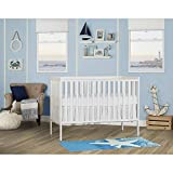 Dream On Me Synergy 5-in-1 Convertible, Crib, White