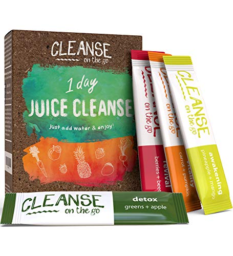 1 Day Juice Cleanse - Just Add Water & Enjoy - 7 Single Serving Powder Packets 1 - My Weight Loss Today