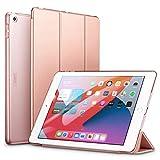 ESR Coque/Étui à Trois Volets Compatible avec iPad 8/7 (8e Gén 2020/7e Gén 2019) 10.2 [Auto Mise en Veille/Réveil] [Mince-Légère] Séries Ascend – Or Rose