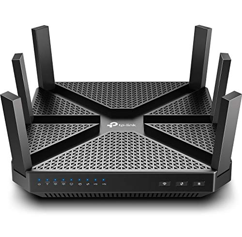 TP-Link AC4000 Smart WiFi Router - Tri...