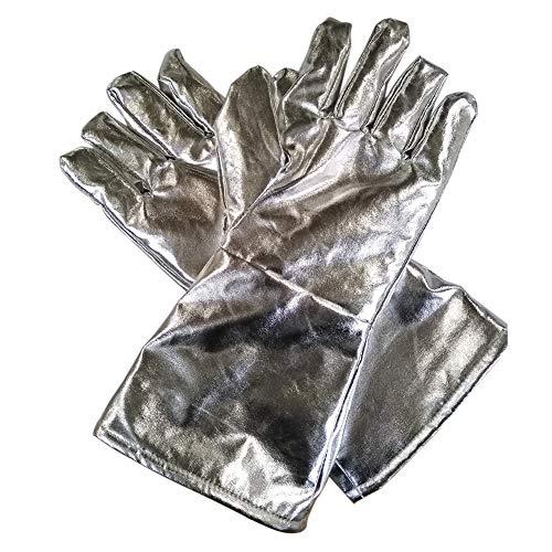 Guanti da forno con dita piccole, 1 paio di guanti da cucina 700/1000 gradi, resistenti al calore,...
