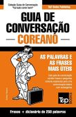 Portuguese-Korean Conversation Guide and mini dictionary 250 words