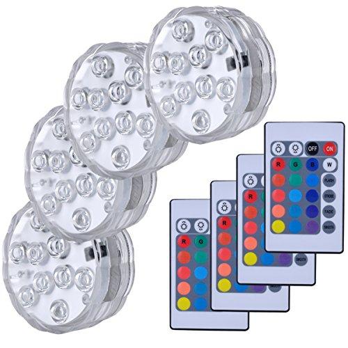 Hitopin HP-LED4 Submersible LED Lights
