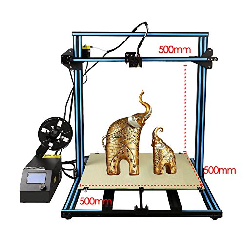 HICTOP 3Dプリンター Reprap Prusa i3 高精度 大容量造形サイズ 多種なフィラメントに対応できる 工業級3D...