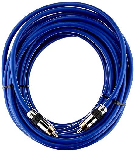 InLine 89410P Cinch Kabel AUDIO, PREMIUM, vergoldete Stecker, 1x Cinch Stecker / Stecker, 10m