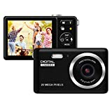 HD Digital Camera, Rechargeable Mini Digital Camera Camera with 2.8' LCD/20MP/8X Digital Zoom Video...