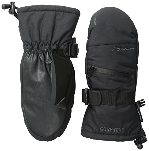 Seirus Innovation Women's Gore-tex St Prism Mitt, Black, Medium