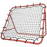 Morimoe Soccer Rebounder Net,Adjustable,Easy Set Up,Steel Frame,40X40-inch