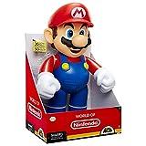 Nintendo- Super Mario Fire Figurine, 78273, Bleu, 50 cm
