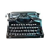 Modèle de machine à écrire vintage décoration en métal sans...