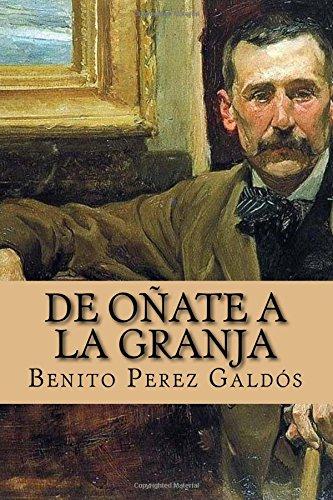 de Oñate a la Granja (Spanish Edition)