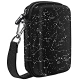 Fintie Carry Case Compatible with Polaroid Snap/Snap Touch Instant Camera, Polaroid Zip/HP Sprocket 2nd Edition Printer, HP Sprocket 2-in-1, Hard EVA Shockproof Storage Travel Bag (Constellation)