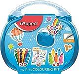 Maped Color'Peps Malette de Coloriage pour Bébé et Enfant dès 1 an –...