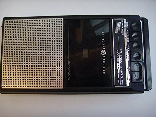 GE General Electric Cassette Tape Recorder 3-5015D, Uses Batteries Only