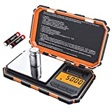 [Upgraded] KeeKit Digital Mini Scale, 200g 0.01g Pocket Scale with 50g Calibration Weight,...