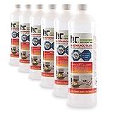 Höfer Chemie 6 x 1 l (6 litres) Bioéthanol 96,6 % Premium - QUALITÉ...