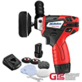 ACDelco G12 Series 12V Cordless 3' Mini Polisher Tool Set with 2 Li-ion Batteries, Charger, and Accessory Kit, ARS1212