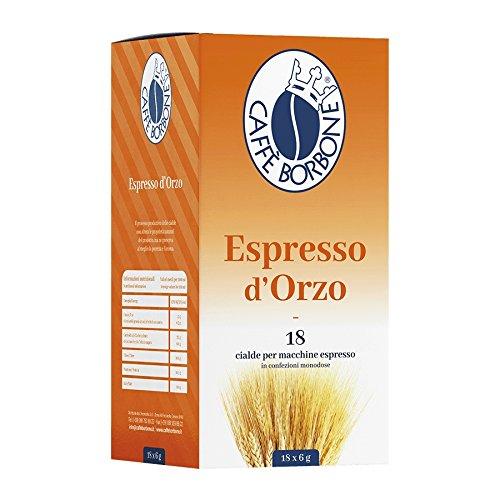 18 Cialde Espresso D'Orzo Caffe' Borbone Filtro in Carta 44 mm