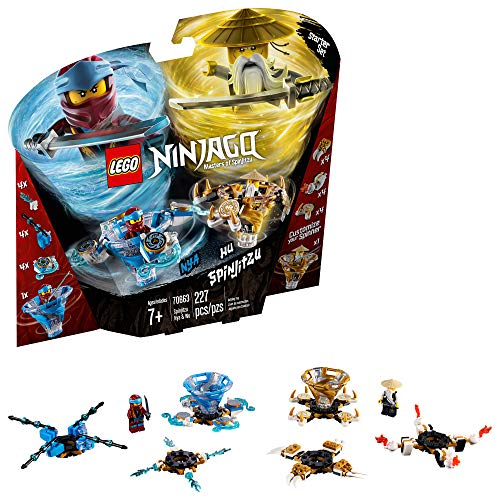 LEGO NINJAGO Spinjitzu Nya & Wu 70663 Building Kit (227 Pieces)