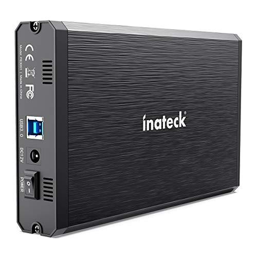 Inateck 2.5/3.5インチ USB3.0 HDD外付けケース SATA(SATA-I/II/III)にサポート UASP超高速データ転送モー...