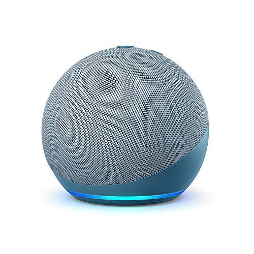 Echo Dot (4 generazione) - Altoparlante intelligente con Alexa - Ceruleo