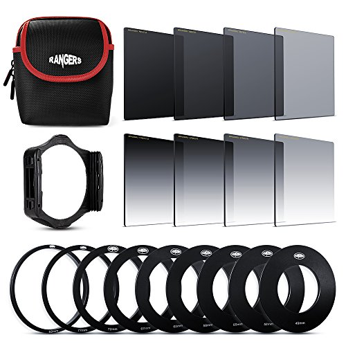 Rangers 8pcs ND Filter Kit (Full and Graduated ND2, ND4, ND8,...