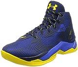 Under Armour Mens UA Curry 2.5 Basketball Shoes 1274425 (8.5, BLACKS, Black (006) / Charcoal)