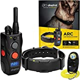 Dogtra ARC 1-Dog Remote Training Collar - 3/4 Mile Range, Waterproof, Rechargeable, Static, Vibration - Includes PetsTEK Dog Training Clicker