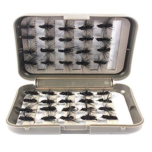 NEYOANN 40 Pz/Set Pesca Artificiale Bumble Fly Trota Esche Bionic Honeybee Esca Pesca Mosca Esca Da Pesca
