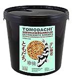 Tomodachi Garnelen, Koifutter, Naturfutter, Koisnack für den Sommer, getrocknete Süßwassergarnelen, Shrimps, Gambas für die Handfütterung der Koi, gesunde, leckere Koibelohnung handzahme Koi 5L Eimer