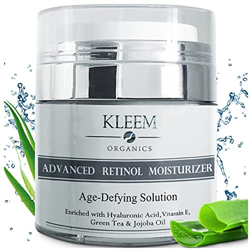 Anti Aging Retinol Moisturizer Cream for Face and Neck with...