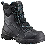 Columbia Men's Bugaboot Plus IV Omni-Heat Mid Calf Boot, Black, Phoenix Blue, 10.5