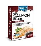 Salmon Fillets - Teriyaki Glaze 3.75 Ounce (Pack of 14)