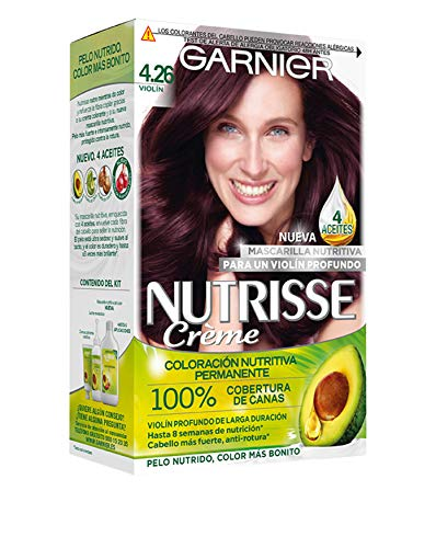 Garnier Nutrisse Creme Coloración Nutritiva Permanente, Tin